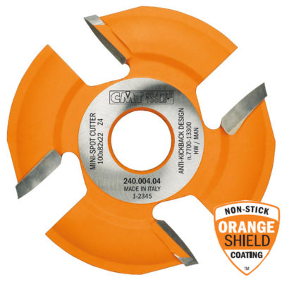 Mini-spot sawblade for Lamello Ø100 x 8/6 x Ø22 Z=4 R=30