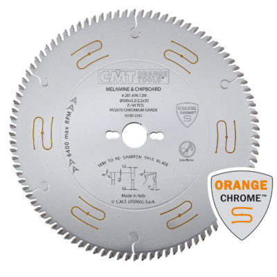 Finishing saw blades