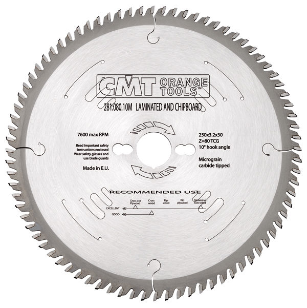 Finishing sawblade HW 160x2