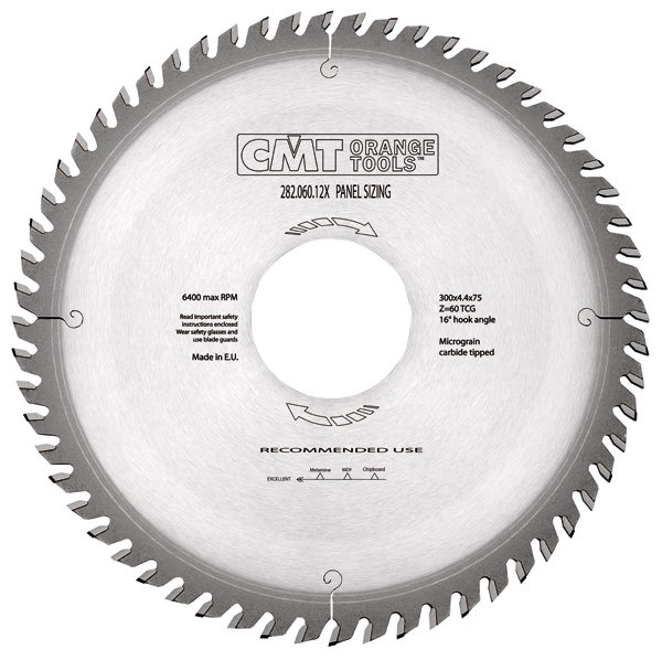 Panel sizing sawblade HW 355x4