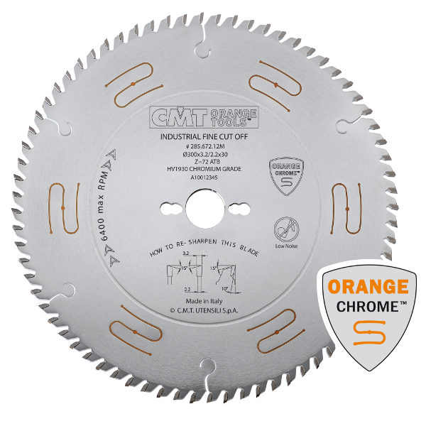 Cross cut sawblade HW CHROME 400x3