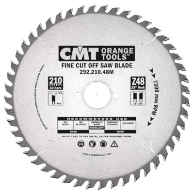 Fine Cut-Off saw blade HW 216x2