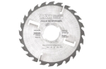 Thin kerf multi rip saw blade with rakers HW 250 x 2