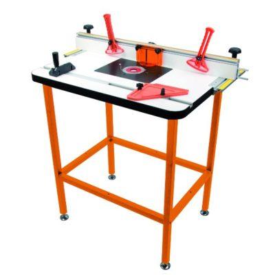Professional router table system incl plate for CMT7E fence