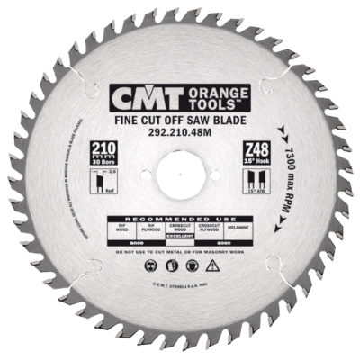 Fine Cut-Off saw blade HW 140x2
