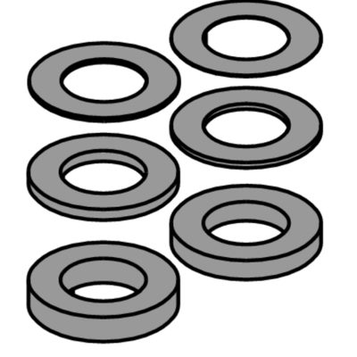 Spacers set Ø55-Ø35 33 mm