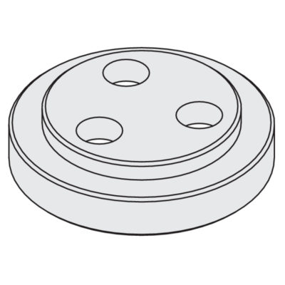 Steel flange ø30 male for cutter arbor 183.360.00