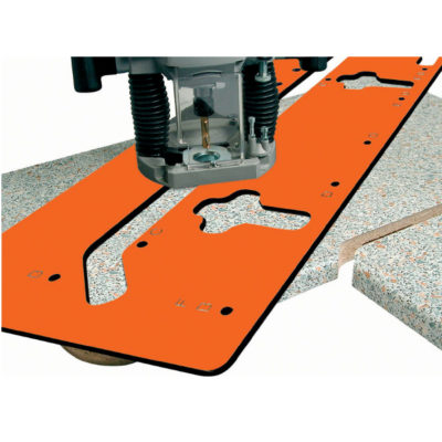 Kitchen worktop jig set 420-650 mm