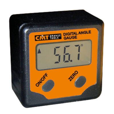 Digital angle gauge LCD display